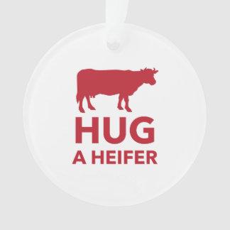Hug a Heifer Funny Dairy Farm