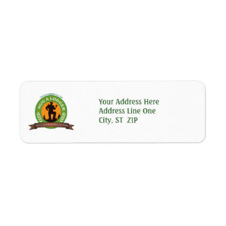 Hug a Logger Address Labels