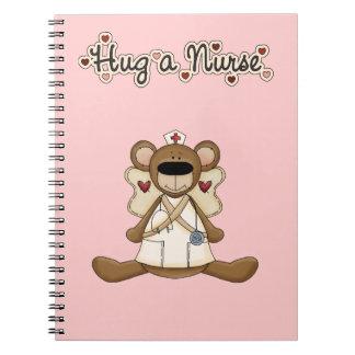 Hug a Nurse Notebooks