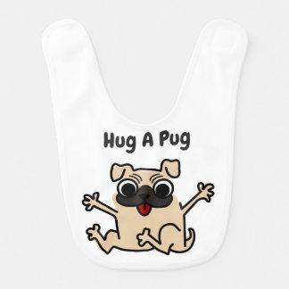 Hug A Pug Dog Bib