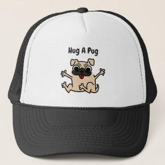 Hug A Pug  Dog Hat