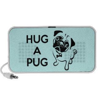 Hug a Pug iPhone Speaker