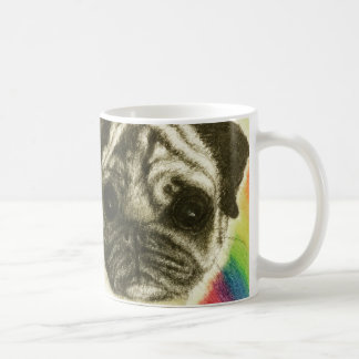 Hug a pug on a mug