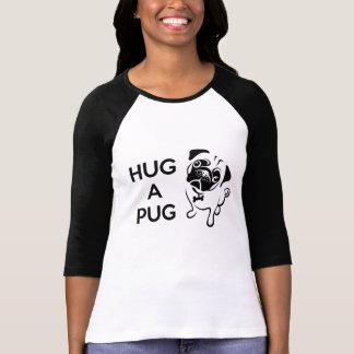Hug a Pug Women s Jersey T Shirt