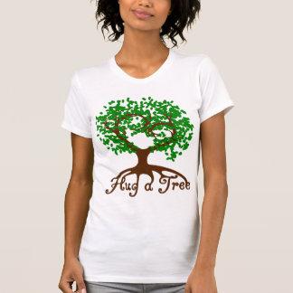 Hug a Tree Ladies T-Shirts