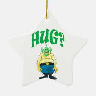 HUG? CERAMIC ORNAMENT