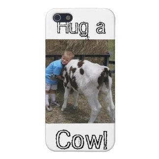 hug cow, Hug a, Cow! iPhone 5 Cover