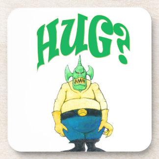 HUG? DRINK COASTER
