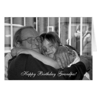 Hug for Grandpa! | Card