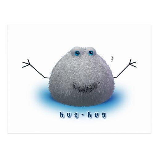 hug-hug Collection Postcard