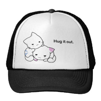 Hug it Out Kittens Mesh Hat