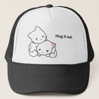 Hug it Out Kittens Trucker Hat