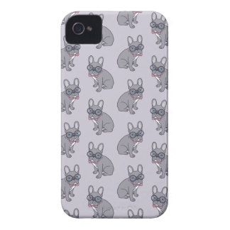 Hug me, cute Lilac Frenchie needs a hug iPhone 4 Case-Mate Case