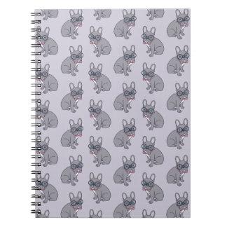 Hug me, cute Lilac Frenchie needs a hug Notebooks
