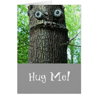 Hug Me Greeting Card