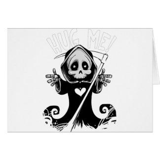 Hug Me Grim Reaper Card
