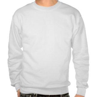 Hug Me, I'm Cuddly Sweatshirt, White