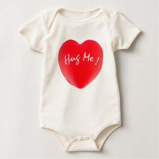 Hug Me! Infant with Heart Baby Bodysuits
