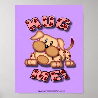 Hug Me Pink! Poster
