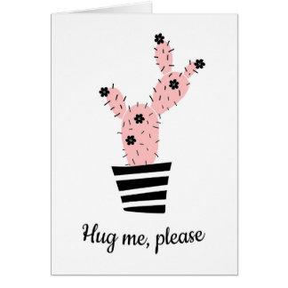 Hug me, please card