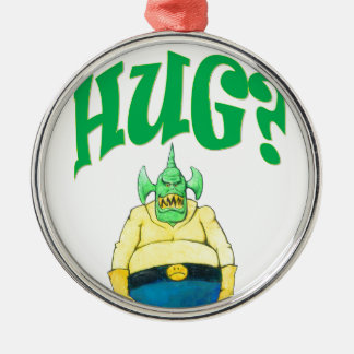 HUG? METAL ORNAMENT