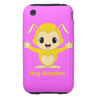 Hug Monsters® iPhone 3G/3GS Case-Mate Tough™ iPhone 3 Tough Cover