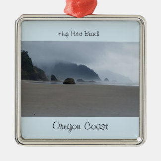 Hug Point Beach Oregon Coast Ornament