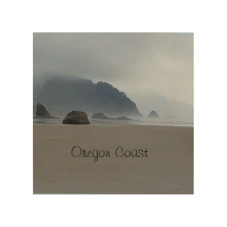 Hug Point Oregon Coast Beach Wood Wall Decor