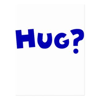 Hug? Post Card