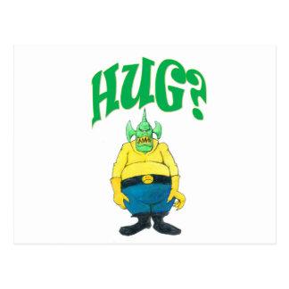 HUG? POSTCARD