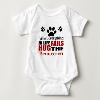 Hug The Beauceron Dog Baby Bodysuit