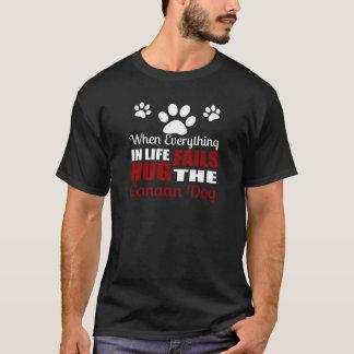 Hug The Canaan Dog T-Shirt