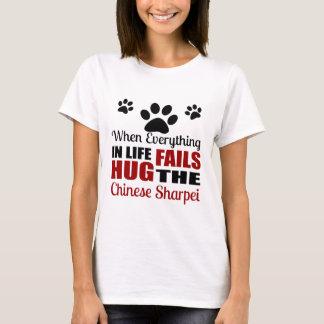 Hug The Chinese Sharpei Dog T-Shirt