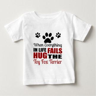 Hug The Toy Fox Terrier Dog Baby T-Shirt