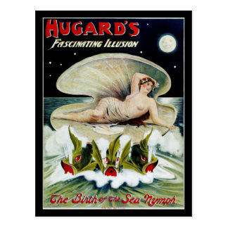Hugard's ~ The Birth of the Sea Nymph Postcard