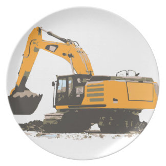 Huge Dirt Excavator Plate