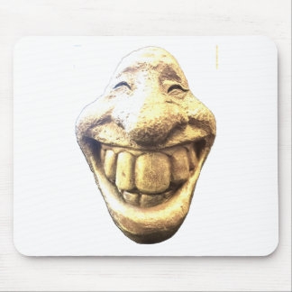 Huge Happy Face Mouse Pad