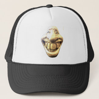 Huge Happy Face Trucker Hat
