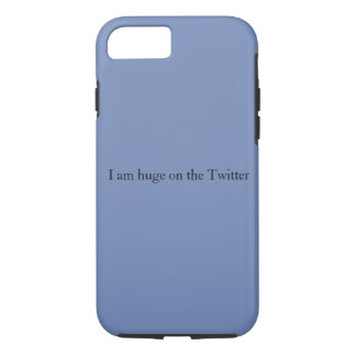 Huge on Twitter iPhone Case