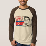 huge only in north korea - kim jong il tee shirts