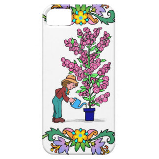Huge pot plant barely there iPhone 5 case