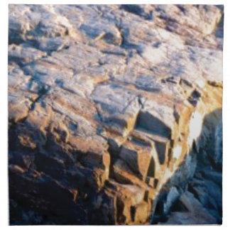 huge rock cube napkin