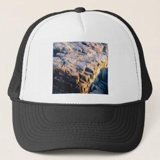 huge rock cube trucker hat