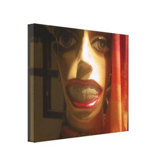Huge Smile Canvas Print