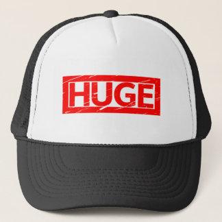 Huge Stamp Trucker Hat