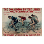 Huge Vintage Mens Sports Cycling Cycling fans Posters