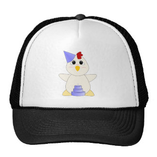 Huggable Chicken Birthday Boy Mesh Hat
