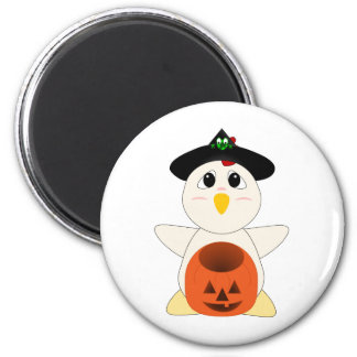 Huggable Chicken Witch Fridge Magnets