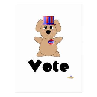 Huggable Voting Koala Bear Vote Post Card