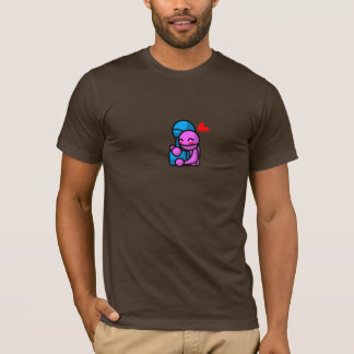 Hugging Bots, Alone T-Shirt